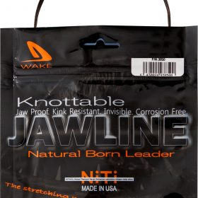 Wake Jawline 8ft - 25lb