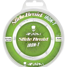 Gunki Slide Braid Iron-T 120 Fluo Green 0,095