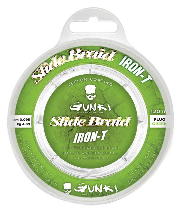 Gunki Slide Braid Iron-T
