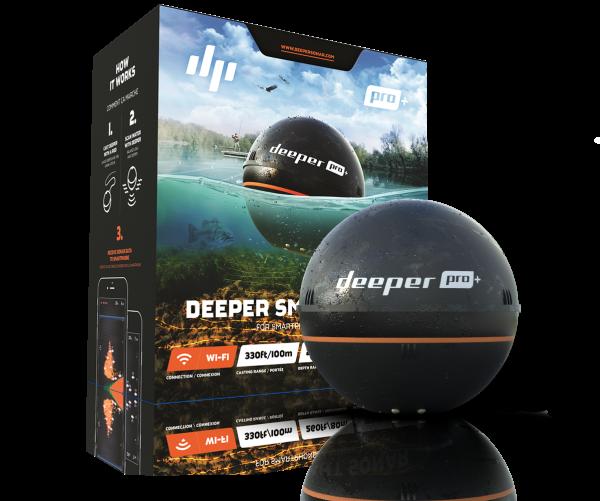 Deeper Smart Sonar PRO Plus eli Deeper Smart Sonar PRO +