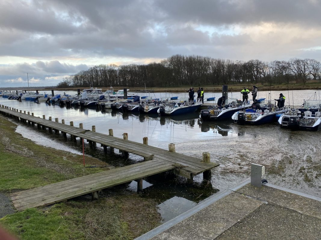 Hauenkalastus Rügenissä alkaa usein tästä laiturista