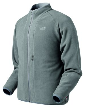 Shinogi Windpro Fleece Jacket (Gargoyle grey) XS